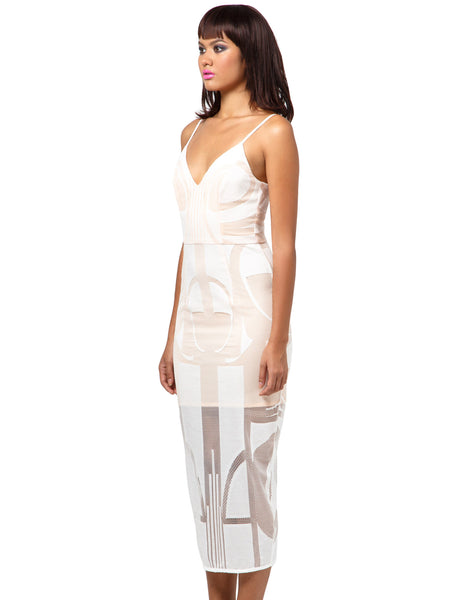 Seidler Cocktail Midi Dress