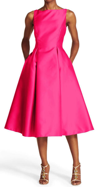 Blissful Pink A-Line Dress