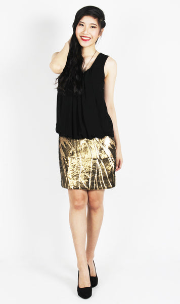 Kelly Sequin Mini Dress