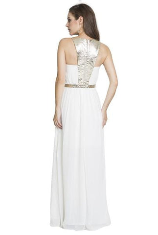 Lumier Grecian Goddess Dress in White