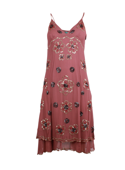 A Beautiful Dress with Embellishments