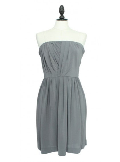 Grey Bustier Dress