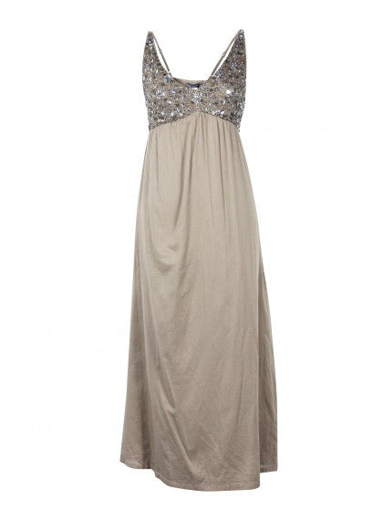 Maxi Dress With Embellishments