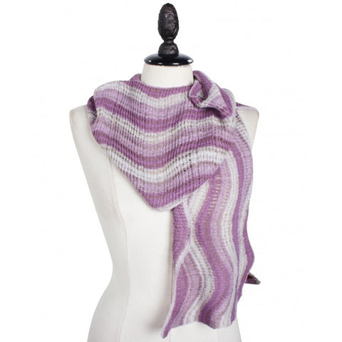 Light Striped Scarf
