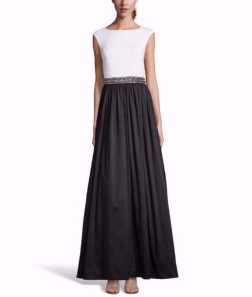 Monochrome Ball Gown