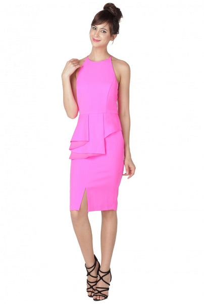 Beat Goes On Peplum Dress