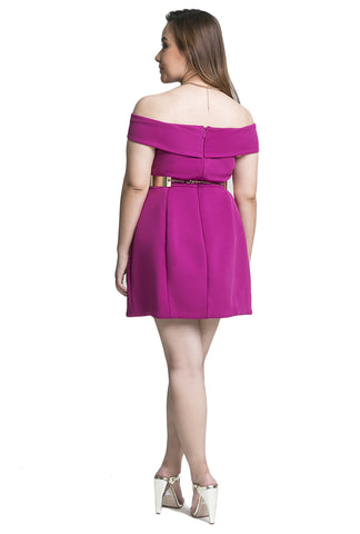 Magnate Strapless Mini Dress