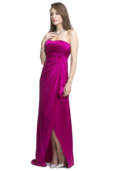 Berry Draped Gown