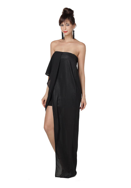 Creator Strapless Maxi In Black