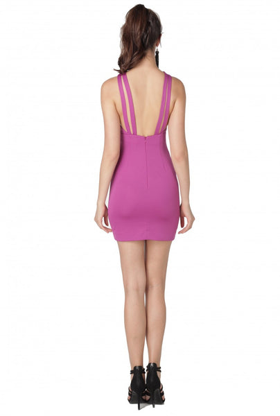 Cryton Strappy Mini Dress