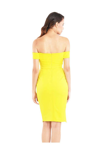 Diva Dress in Citrus