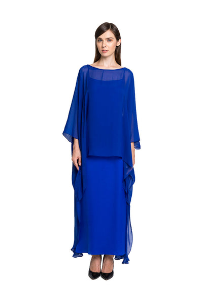 Kaftan in Electric Blue