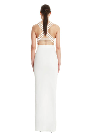 Kalab Strappy Back Maxi Dress