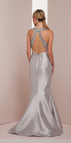 Swanky Silver Gown