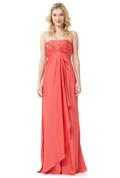 ML Monique Lhuillier Bridesmaids Strapless Gown
