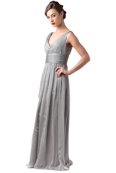 ML Monique Lhuillier Bridesmaids Chiffon Gown