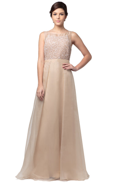 Nude Bella Gown