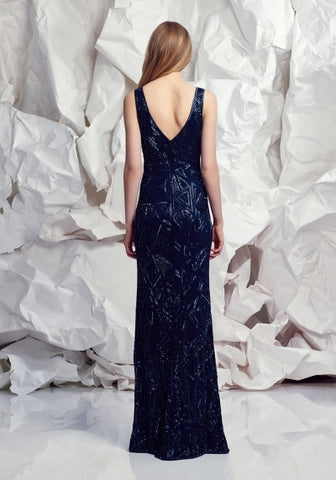 Navy Opulence Gown