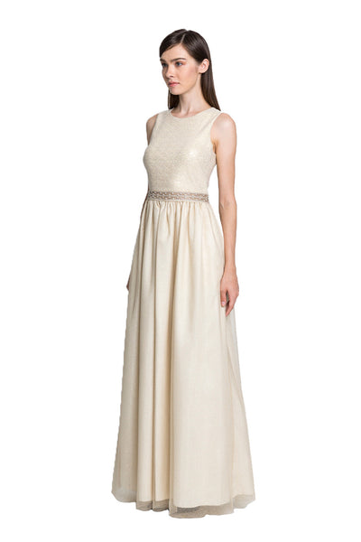 Light Gold Ball Gown