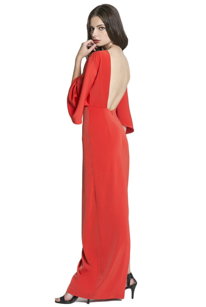 Seiber Backless Maxi Dress