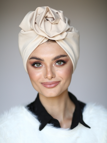 Plaid Turban Hat