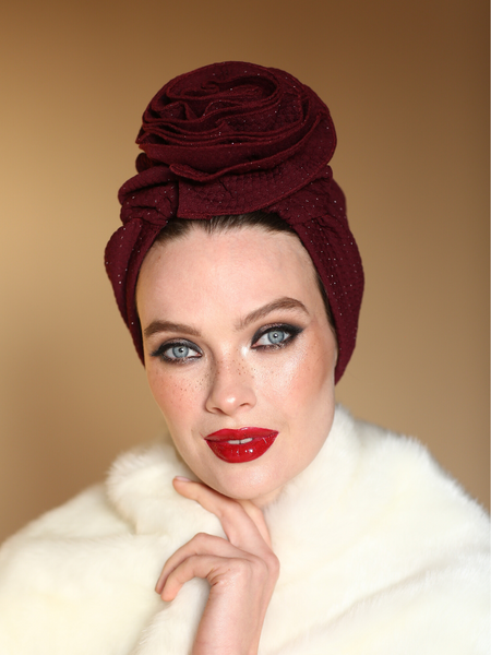 BURDUNGY 3T ROSE TURBAN