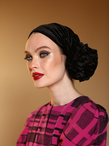 Plaid Lollipop Turban