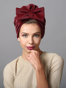Big Bow Turban hat