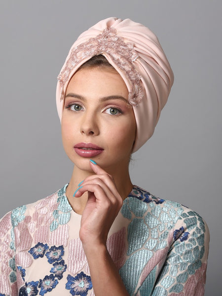 1920s  Sequin Embellished Turban