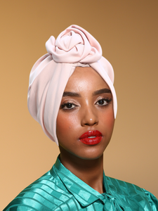 Light pink Retro Turban