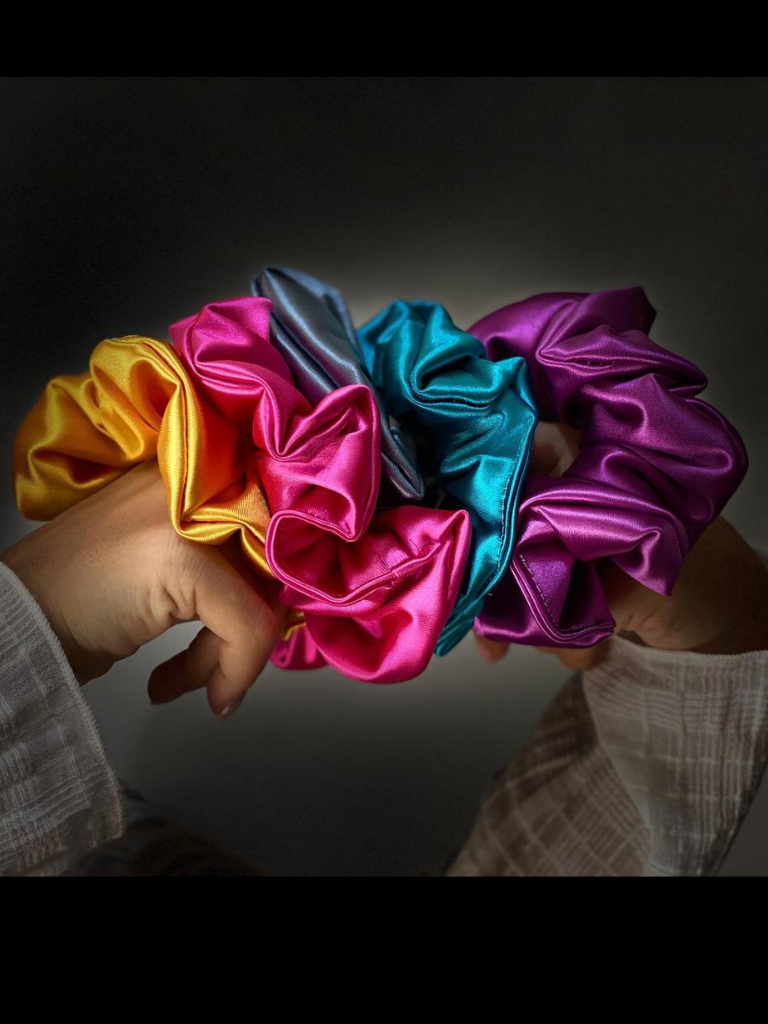 5 pack scrunchie - Bundle all colors