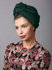 Green Flower turban