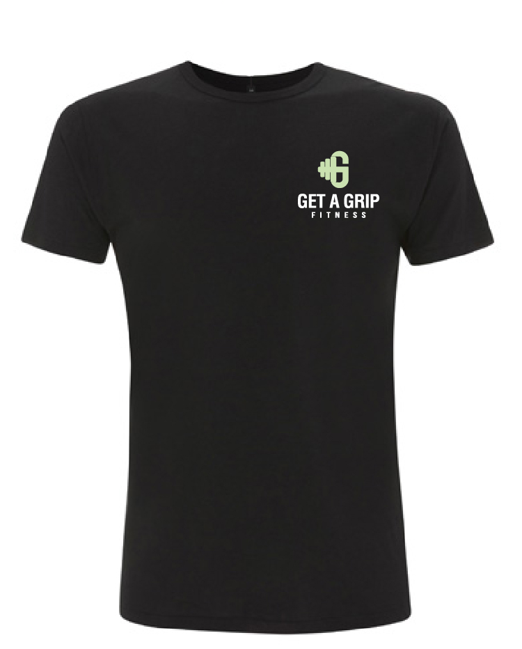 Get A Grip Fitness 'Time To Talk' Mens T Shirt- Mental Health Matters