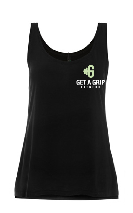 Get A Grip Fitness 'Time To Talk' Ladies Vest- Mental Health Matters