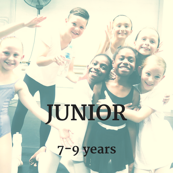 SYDNEY: SUMMER 2019: JUNIOR: GROUP 2 (JAN 24-26)