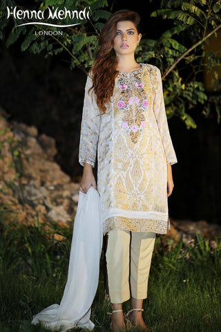 Gold Diamante Embroidered Outfit