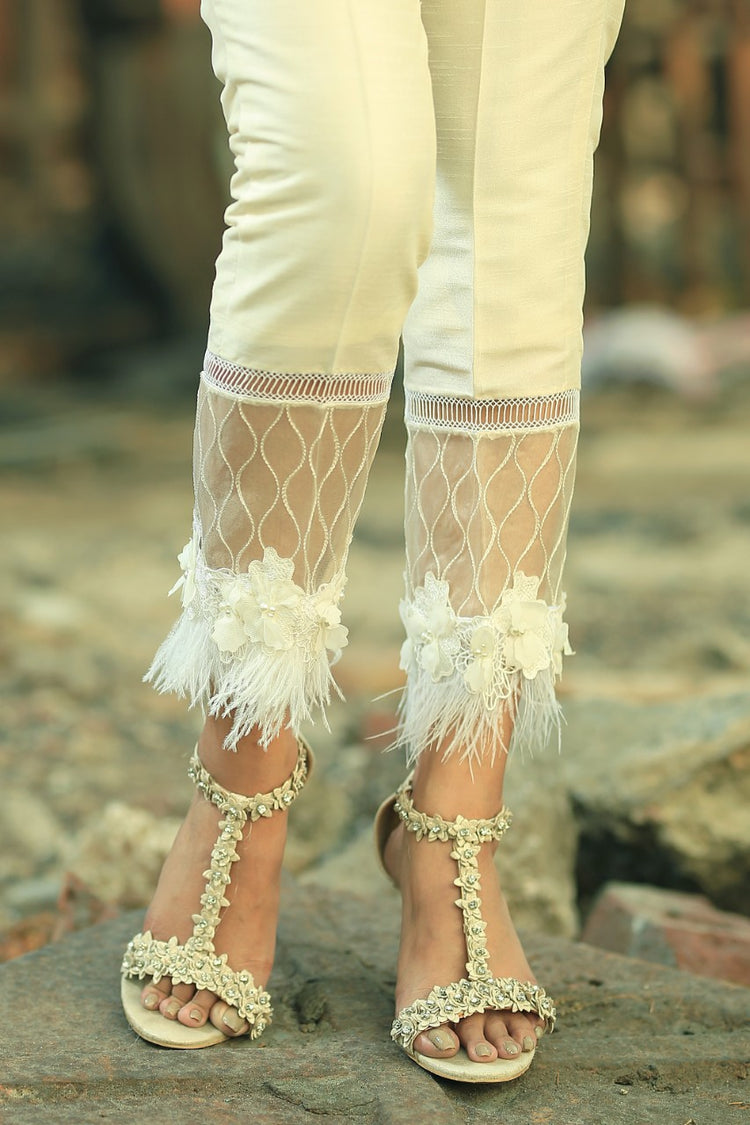 Feather Trousers