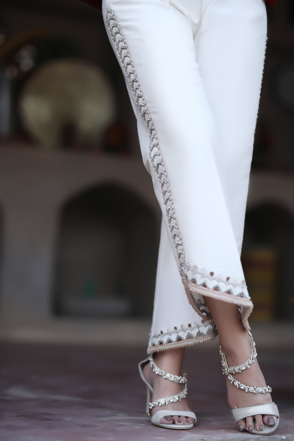 Bejeweled Trousers