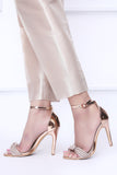 Rose Gold Shimmer Trousers