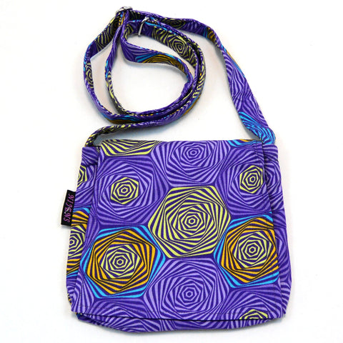 Shoulder bag NijensChoto - purple mix