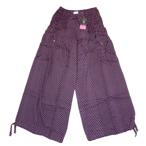 Pants Nijens Tirra-42 Bordeaux red