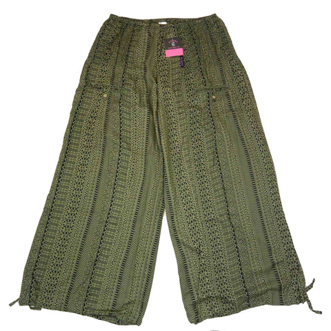 Nijens women's pants leisure trousers Tirra olive green-62