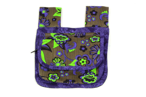 Bum bag NijensOxford dark purple mix