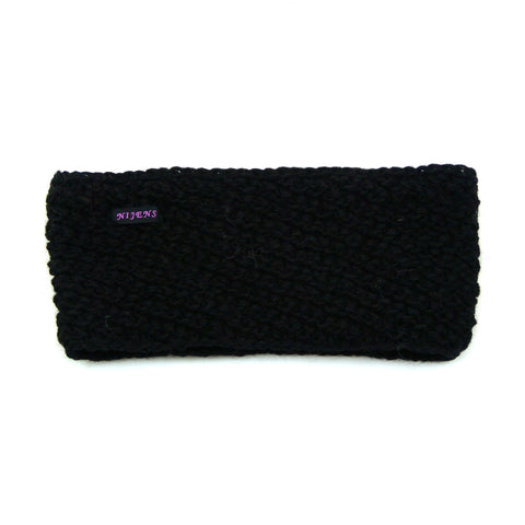Nijens headband wool black Aludra 01