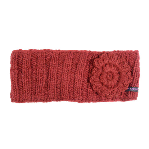Nijens headband wool Arieas wine red-22