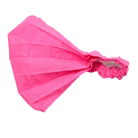 Nijens bandana mask cotton pink