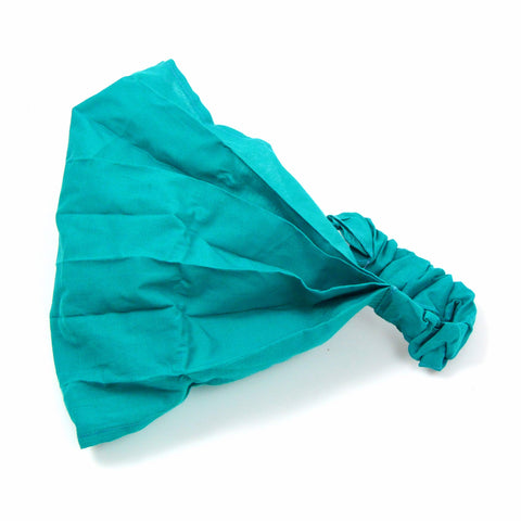 Nijens fabric hairband headband bandana-turquoise-18