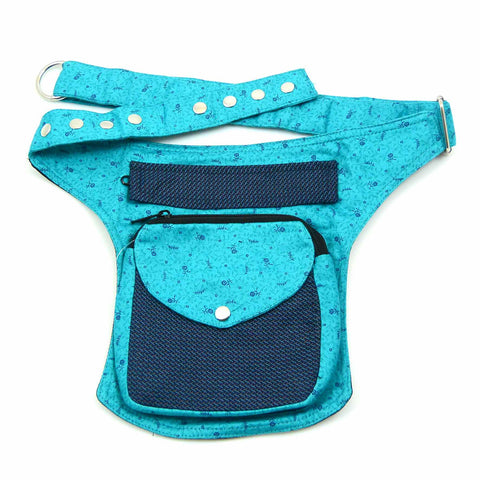 Waist Bag lightblue turquoise Berlin
