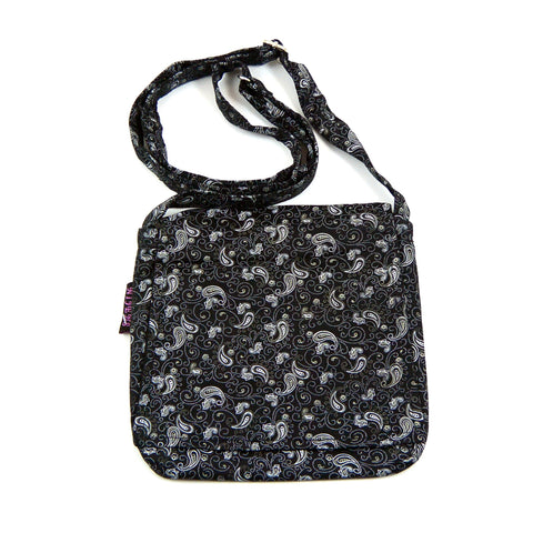 Shoulder bag Nijens Choto - Black Mix