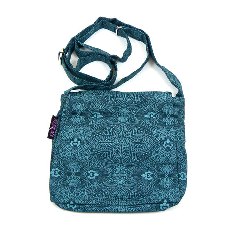 Shoulder bag NijensChoto - Petrol OM